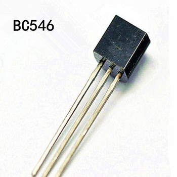 100 adet BC546 BC546B TO-92 Triode Transistör 0.1A 30779