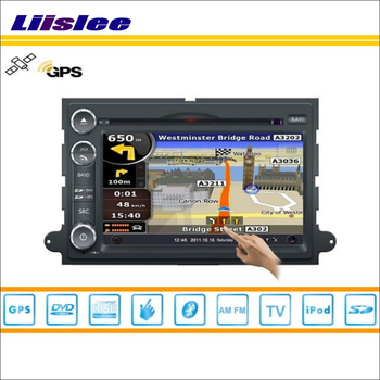 Ford Expedition Için 2007 ~ 2011 Araba S160 Liislee Multimedya Sistemi Radyo Stereo CD DVD TV GPS Nav Navi Navigasyon HD Dokunmatik ekran 39528