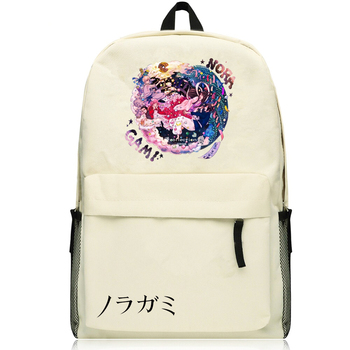 Harajuku Japanese Anime Noragami ARAGOTO YATO Cosplay Printing Canvas Backpack School Backpacks for Teenage Girls School Bags 65941