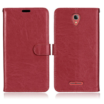 "Telefon case alcatel pop 4 + case silikon kapak 5.5 için ""lüks cüzdan retro deri telefon kapak için alcatel pop 4 plus case çapa"